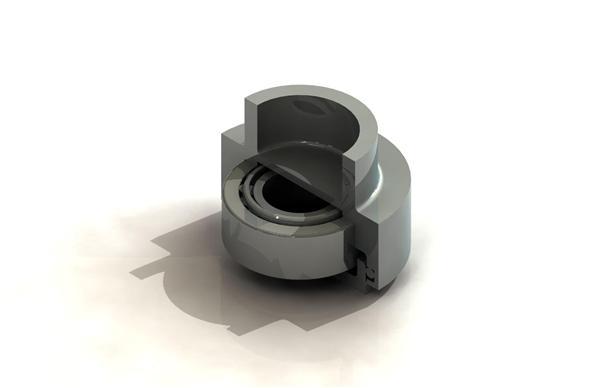 Zapfenband 3D Schnitt